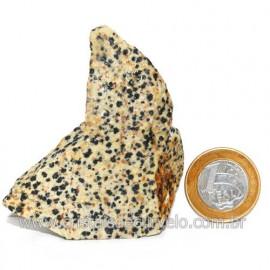 Jaspe Dalmata Pedra Natural Mineral de Esoterismo Cod123309