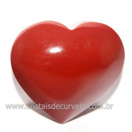 Coraçao Jaspe Vermelho Pedra Natural de Garimpo Cod 118269