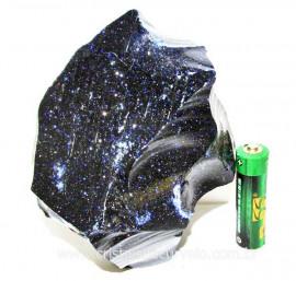 Pedra Estrela Pigmento Dourado Bruto Para Lapidar Cod 103430