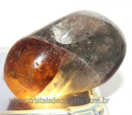 Auralite 23 Rolada Cacoxenita Kindred Cristal do Espírito 109307