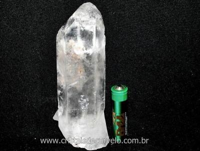 Ponta Cristal Bruto Quartzo de Garimpo Natural Cod CB7642