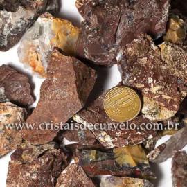 01kg Cascalho Calcedônia Mosaico ou Quartzo Jiboia Pra Orgonite