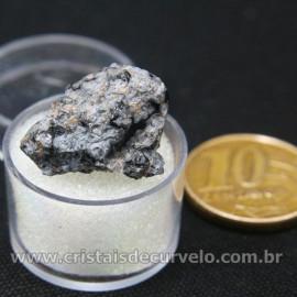 Obsidiana Flocos de Neve Pedra Natural Amostra Estojo Cod 126974
