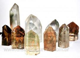 Pontas Cristal Especial Lodo Verde Phanton Rutilo e outros Pct 500gr  - ATACADO