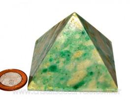 Piramide Jadeita Baseada Queops Pedra Comum Lapidado Manual Cod PJ280.5