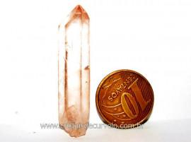 Lemuria Tangerina raro Pedra Natural Cristal Bruto Cod LT3949