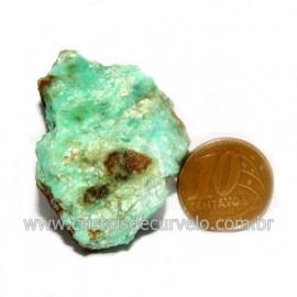 Crisoprasio Bruto Natural Pedra Familia da Calcedonia Cod 123165