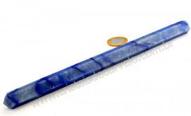Vara de Cristal ou Varinha Bastão Pedra Quartzo Azul Natural de Garimpo Cod 106.5