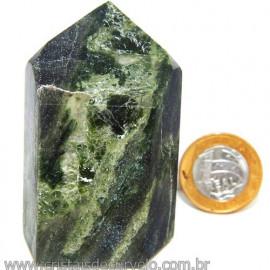 Ponta Epidoto Verde Na Matriz Ideal Para Coleção Cod 113187
