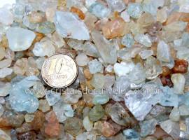 Topazio Bruto Pacotinho 100Gr Pedra Natural Reff PT4786