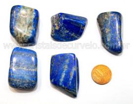 01 Lapis Lazuli ou Lazurita Natural Rolado Reff LL5038