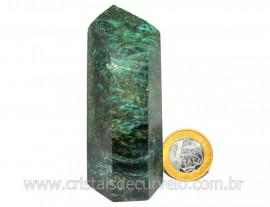 Ponta Fuxita Verde Pedra Natural Mineral Garimpo Cod PF1468