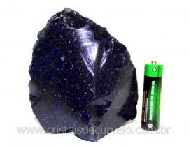 Pedra Estrela Pigmento Dourado Para Lapidar Colecionador ou Esoterismo Cod PE3817