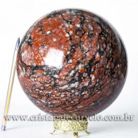 Bola Grande Pedra Unakita Brasileira Natural 6kg cod 120459