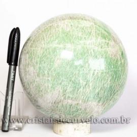 Bola Amazonita Verde Pedra Natural Esfera Grande 3.9kg Cod 125456