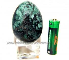 Ovo Esmeralda Pedra Natural Ideal P/ Colecionador Cod 110590