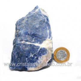 Sodalita Azul Natural de Garimpo Para Colecionar Cod 122874