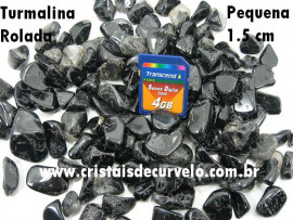 Turmalina Preta Rolado Pacote 1kg Pedra Rolado Turmalina Negra Pedra Comum