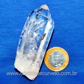 Lemuria Pequeno Quartzo Comum Cristal Lemuriano Natural Cod 119461