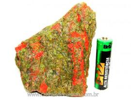 Unakita Pedra Bruta Natural De Garimpo Boa Cor Cod UB8653