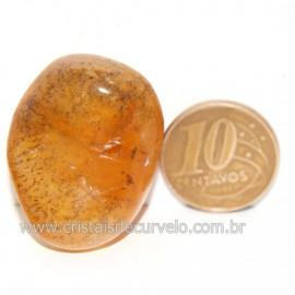 Hematoide Amarelo com Inclusão Dendrita Pedra Natural Cod 126204