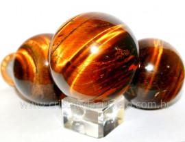 Esfera Olho de Tigre Bola Mineral Origem Africa Tamanho M Reff BT7434