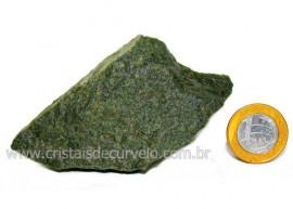 Basalto Verde Bruto Para Colecionador ou Estudante Cod BV2452