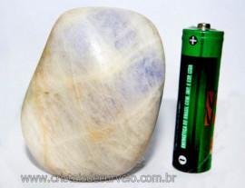 Ambligonita Roxa Rolado Pedra Grande Comum Qualidade Reff AR2458