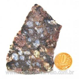 Riolita Rosa Rocha Vulcânica Pedra de Garimpo Bruto Cod 128047