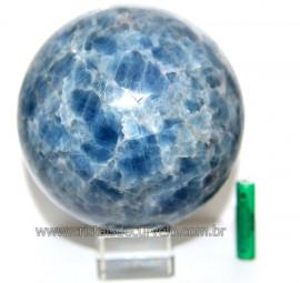 Esfera Calcita Azul 2.078 kg Natural de Garimpo Cod 110945