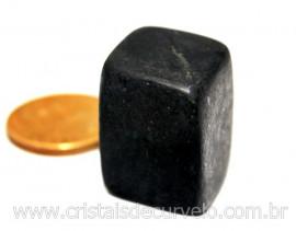 1 Shungite Pedra Rolada Purificadora Ideal Esoterismo ou Colecionador Reff SR3317