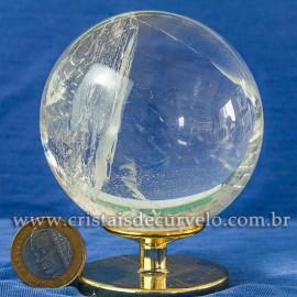 Bola de Cristal Pedra Extra Esfera Quartzo Transparente 112872