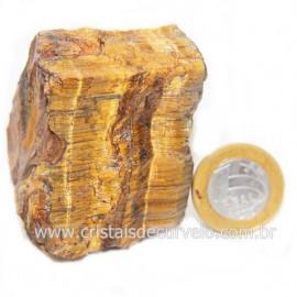 Olho de Tigre Pedra Extra Bruto Natural da África Cod 121230