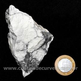 Howlita Pedra Natural P Colecionador e Esoterismo Cod 126802
