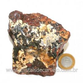 Quartzo Jiboia Bruto Calcedonia Mosaico Bruto Natural Cod 126421