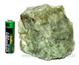 Epidoto Verde Filamento na Matriz Cristal Quartzo Cod 102492