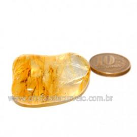 Hematoide Amarelo com Inclusão Dendrita Pedra Natural Cod 126193