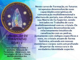 Kit Pedras Para Curso Universidade Cristal Estelar - Nível 1