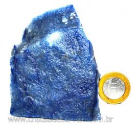 Quartzo Azul ou Aventurina Azul Bruto Natural Cod 110805