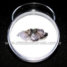 Safira D'Água Pedra Genuina P/ Coleçao no Estojo Cod 114730