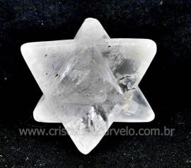 MerkabaH Pedra Cristal Natural Quartzo Hialino Cod MC4242