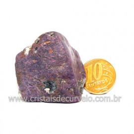 Purpurita Rolada Pedra Natural Ideal Colecionador Cod 125888