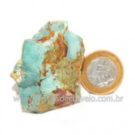 Turquesa Bruta Extra Pedra Natural Para Coleçao Cod 122827