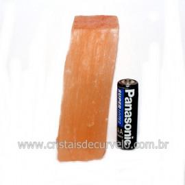Selenita Laranja Pedra Natural Para Esoterismo Cod 121420