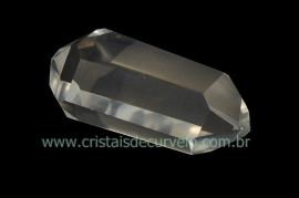 Bi Terminado Cristal Quartzo Pedra Extra Lapidado Tamanho 2.0 a 4  Cm