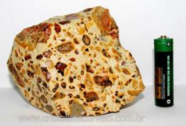 Leopardita ou Jaspe Leopardo Natural Da Africa Pedra Para Coleção Cod JL9805