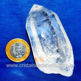 Lemuria Pequeno Quartzo Comum Cristal Lemuriano Natural Cod 119460