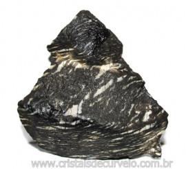 Jaspe Net Pedra de Garimpo Com Listras Naturais Cod 111260