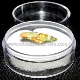 Labradorita Canadense Mineral Natural No Estojo Cod 114213