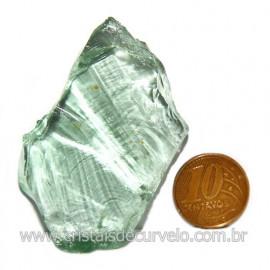 Obsidiana Verde Pedra Vulcanica Ideal P/ Coleçao Cod 119714